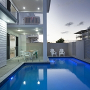 beautiful two storey house with outdoor pool
