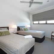 Bedroom with 2 single beds | Prestige Holiday Homes