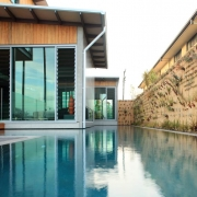 Modern long pool | Prestige Holiday Homes