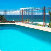 Long modern Pool with beach view | Prestige Holiday Homes
