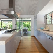 Modern Kitchen with view to the forest | Prestige Holiday Homes