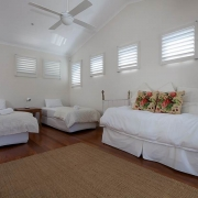 White Spacious single beds   Prestige Holiday Homes