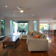 Spacious Living with Fireplace     Prestige Holiday Homes