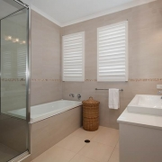 Modern Bathroom with Bath   Prestige Holiday Homes