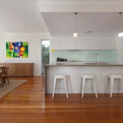 Modern white kitchen   Prestige Holiday Homes