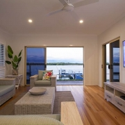 Spacious living room are with view to the beach | Prestige Holiday Homes