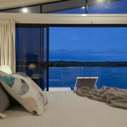 Modern Bedroom with view to the beach | Prestige Holiday Homes