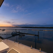 spacious deck with view to the beach | Prestige Holiday Homes