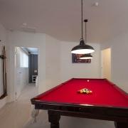 Red Billiard Pool table | Prestige Holiday Homes