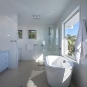 Modern bathroom at Ocean View Beach House | Sunshine Coast Holiday Homes