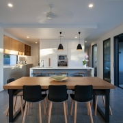 Modern ding room area and open kitchen | Prestige Holiday Homes