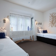 Two single beds at Indigo Blue Beach House | Sunshine Coast Holiday Homes