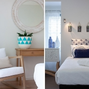 Bedroom and chair at Indigo Blue Beach House | Sunshine Coast Holiday Homes