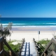 Beach access at Sunset Beach House Holiday Home   Featured for Sunshine Coast Events 2021.