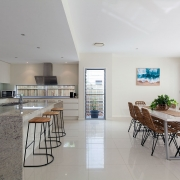 Kitchen and dining setting | Beach Wave House