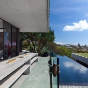 Infinity pool and deck | the Eyrie