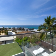 2nd floor verandah overlooking ocean | the Eyrie