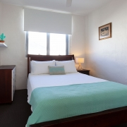 2nd floor double bed | Saltwater Beach House