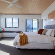 2nd floor master bedroom | Saltwater Beach House