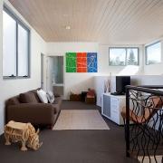 2nd floor entertainment nook | Saltwater Beach House