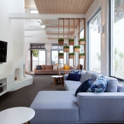 Long view of living room | Saltwater Beach House