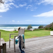 Ocean and deck | Saltwater Beach House