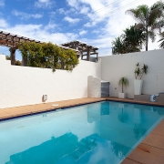 Tiled swimming pool | Saltwater Beach House