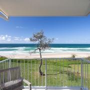Verandah overlooking beach and ocean | Saltwater Beach House