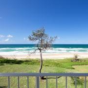 Sandy beach and ocean | Saltwater Beach House