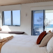 Master bedroom with ocean view | Saltwater Beach House
