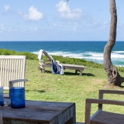 Wooden deck chairs | Saltwater Beach House
