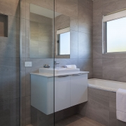 Modern bathroom at Sea Renity Coolum Beach | Sunshine Coast Holiday Homes