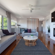 Spacious living room at Sea Renity Coolum Beach | Sunshine Coast Holiday Homes