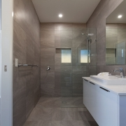 Designer bathroom at Sea Renity Coolum Beach | Sunshine Coast Holiday Homes
