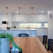 Spacious and modern designer kitchen and dining at Sea Renity Coolum Beach | Sunshine Coast Holiday Homes