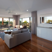 2nd floor bar and living area at Sea Renity Coolum Beach | Sunshine Coast Holiday Homes