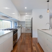 Modern kitchen at Sea Renity Coolum Beach | Sunshine Coast Holiday Homes