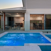 Outdoor pool at Sea Renity Coolum Beach | Sunshine Coast Holiday Homes