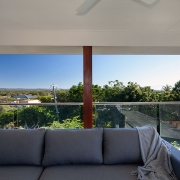 2nd floor outdoor deck at Sea Renity Coolum Beach | Sunshine Coast Holiday Homes