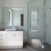 Another bathroom at Whitehaven Beach House Coolum holiday homes.