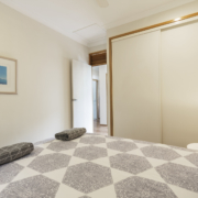 Another bedroom at Coolum Beach Bare Feet Retreat Holiday Home.