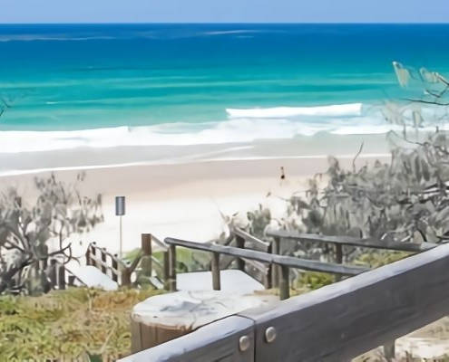 Sunshine Coast Beach | Featured image Secret Beaches Sunshine Coast Locals Don't Want You to Know About