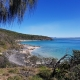 View of the beach on a sunny day | Top Sunshine Coast Walking Trails