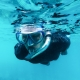Guy Snorkeling using wet suit | Featured image for Best Places to Go Snorkelling Sunshine Coast | Blog